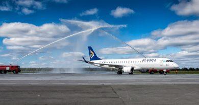 Air Astana выполнила первый рейс в Подгорицу